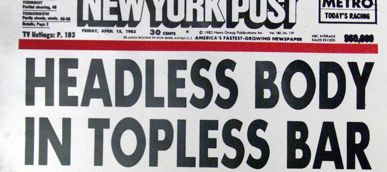 What tabloid headlines have in common with employee communication