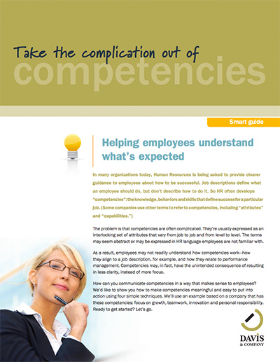 employee competencies guide