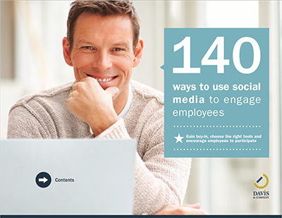 social media engage employees guide