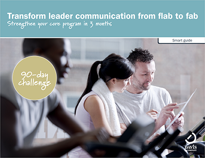 Strengthen leader communication