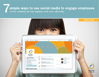 social media employees guide
