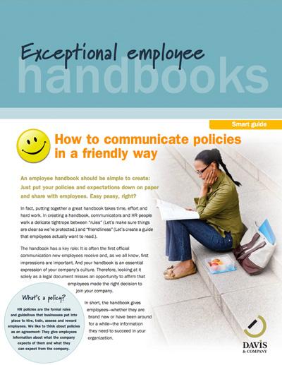 internal company handbook smart guide