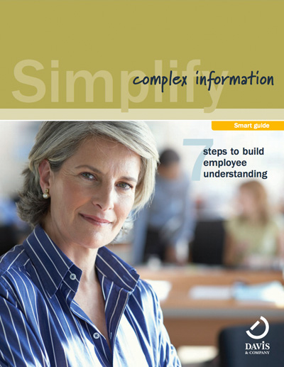 Simplify complex information for employees smart guide