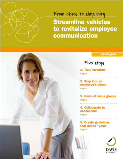 Streamline vehicles employee communications smart guide
