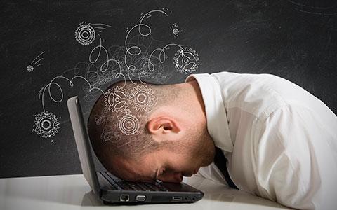 frustrated employee