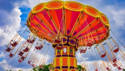 Amusement park is your communication channel fun