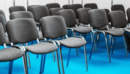 For a better employee meeting, rearrange the chairs