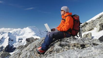 Mountain climbing is like challenges employee communicators face