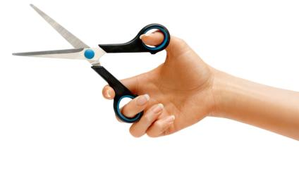 Don't be afraid to take out the scissors to cut copy