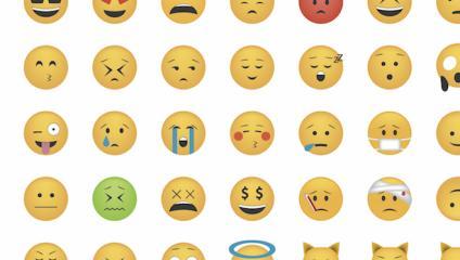 Can simple smiley faces really act as internal communication measurement tools?