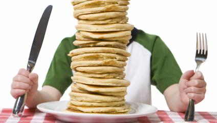 Big stacks of pancakes are like too much email content