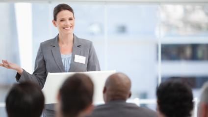 When presenting, avoid these mistakes