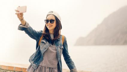 Take a selfie photo and join the visual revolution