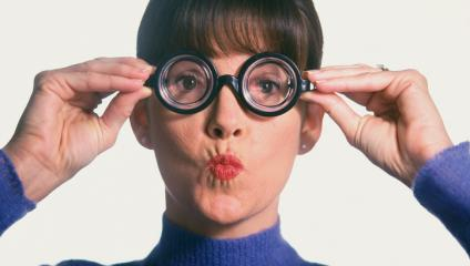 Thick glasses myopia about employee preferences
