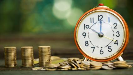 Time is money when it comes to organizational announcements