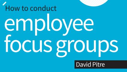 employee focus group book