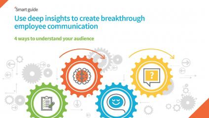 Form a better understanding of your audience to improve internal communication