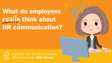 Davis & Company HR Communication 2015 Survey