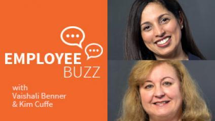 Vaishali Benner, Kim Cuffe, Employee Buzz Guests