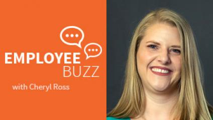 Employee Buzz Guest, Cheryl Ross