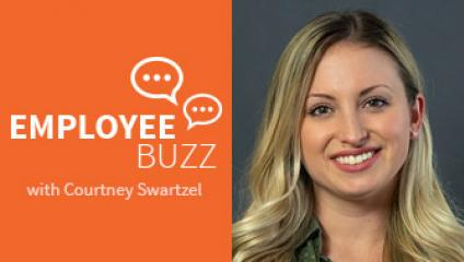Employee Buzz Guest, Courtney Swartzel