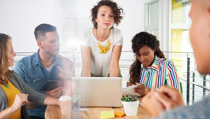 manager communicating change