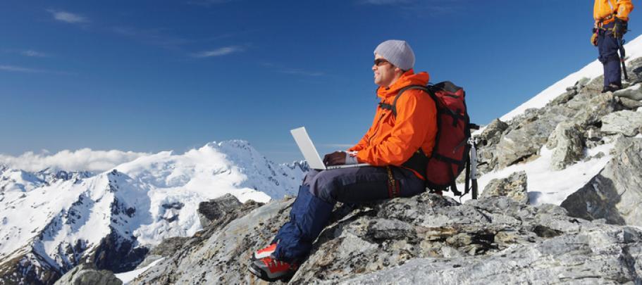 Mountain climbing is like challenges employee communicators face