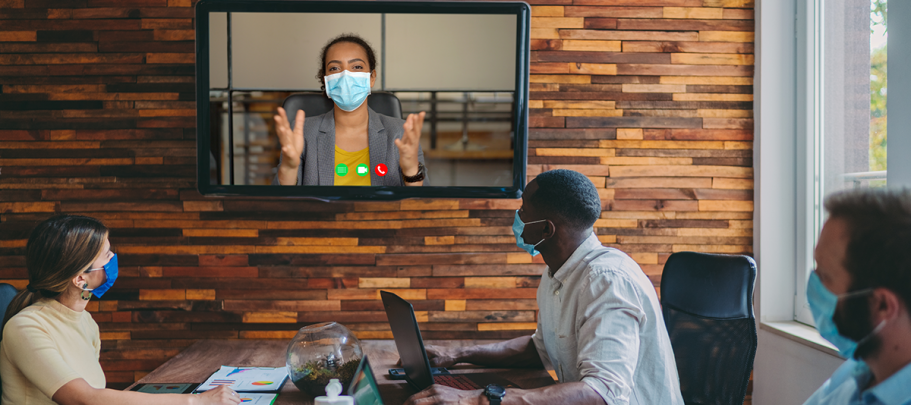 help manager communicate with a remote workforce