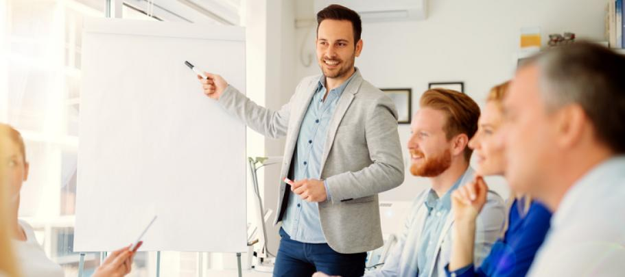 Presentation best practices for engaging employee communication