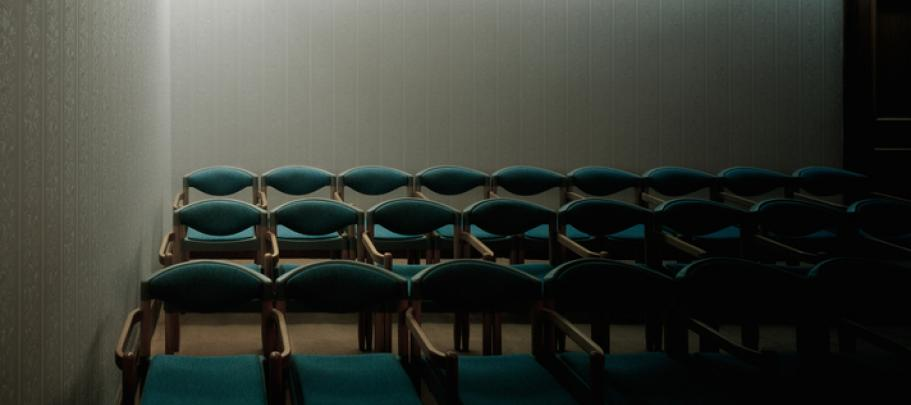 The seating arrangement has a big impact on employee town hall effectiveness