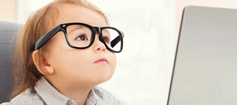 Smart baby is like smart employees who still need simplicity