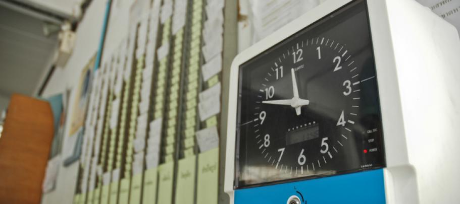 When visiting a site, start at the time clock to understand the employee experience
