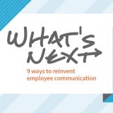 whats next internal communication book