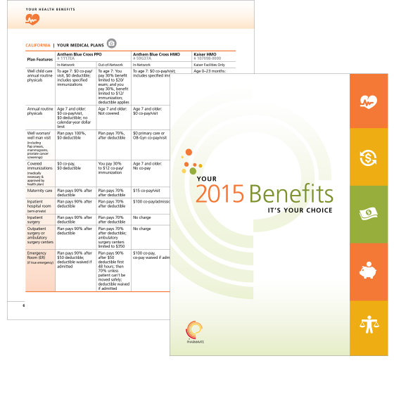 HR-communication-brochure-to-explain-benefits