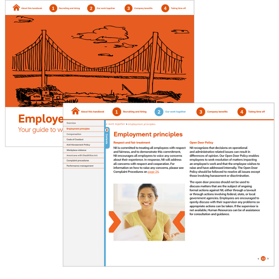 Designing-a-navigable-appealing-employee-handbook