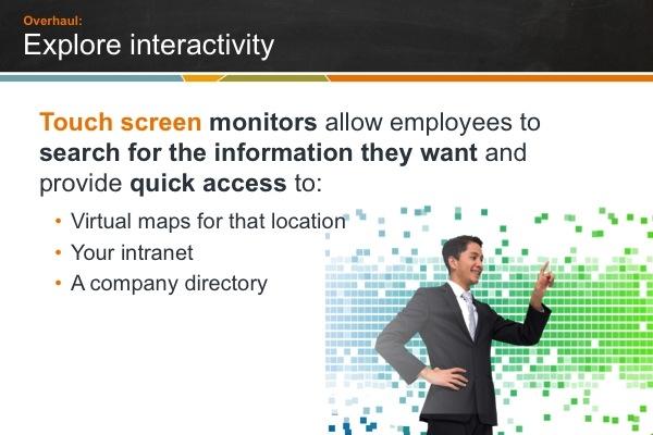 Digital sign interactivity