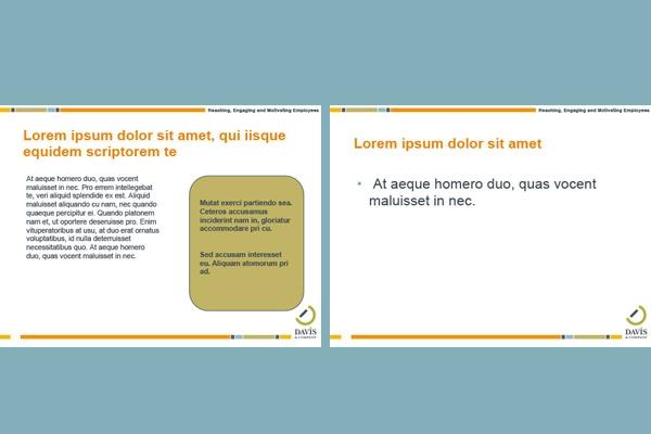Presentation makeover simple